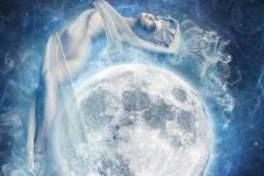 La Luna e le Dee bianche - Astrologia Evolutiva